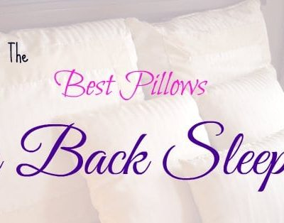 Best Pillow Back Sleepers
