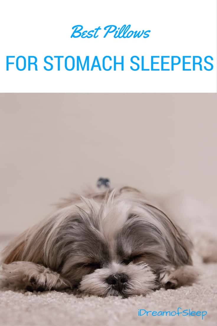 All of the best pillows for stomach sleepers so they can sleep pain free.