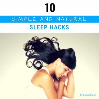 Simple tips and ideas to improve your sleep naturally and kick insomnia to the curb