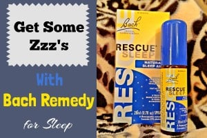 Bach Remedy for Sleep is one of my favorite OTC natural insomnia remedies