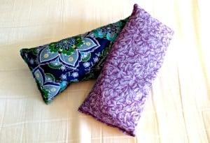 DIY lavender eye pillow