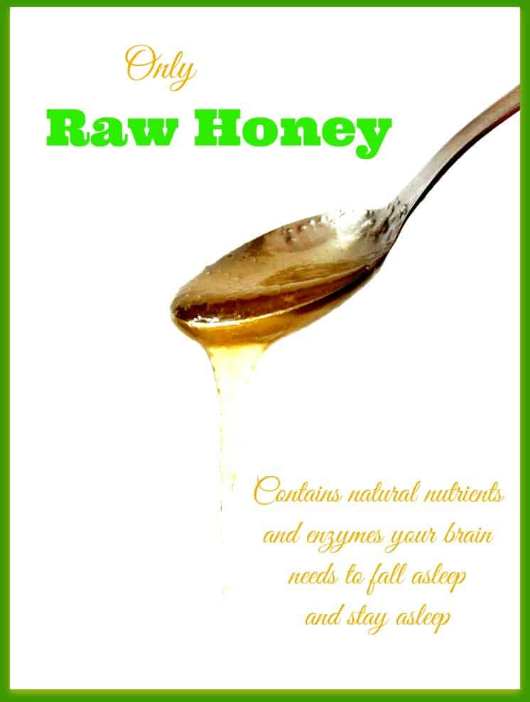 How does honey help you sleep? Taking raw honey for sleep fuels your body through the night to stop night time wakings.