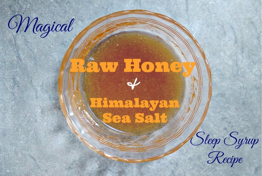 Help kick your insomnia in the butt by taking himalayan sea salt and honey to sleep. It's so good!