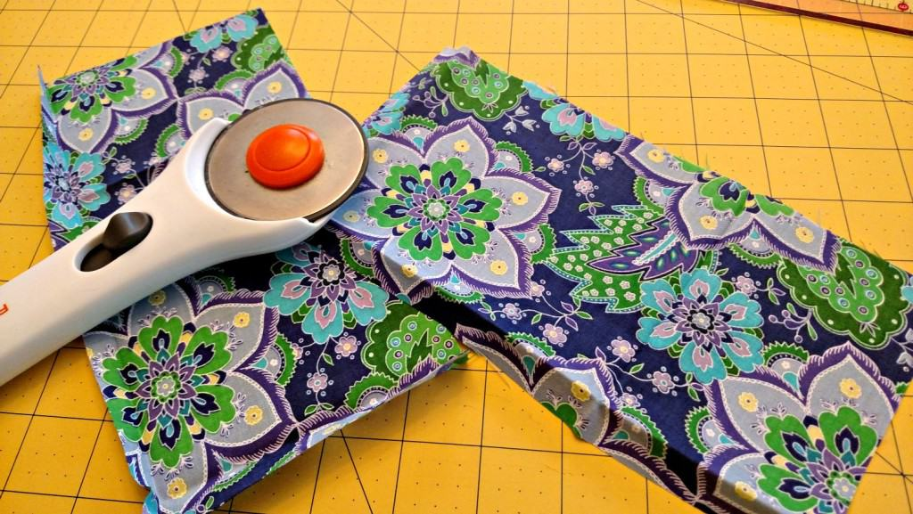 lavender eye pillow pattern