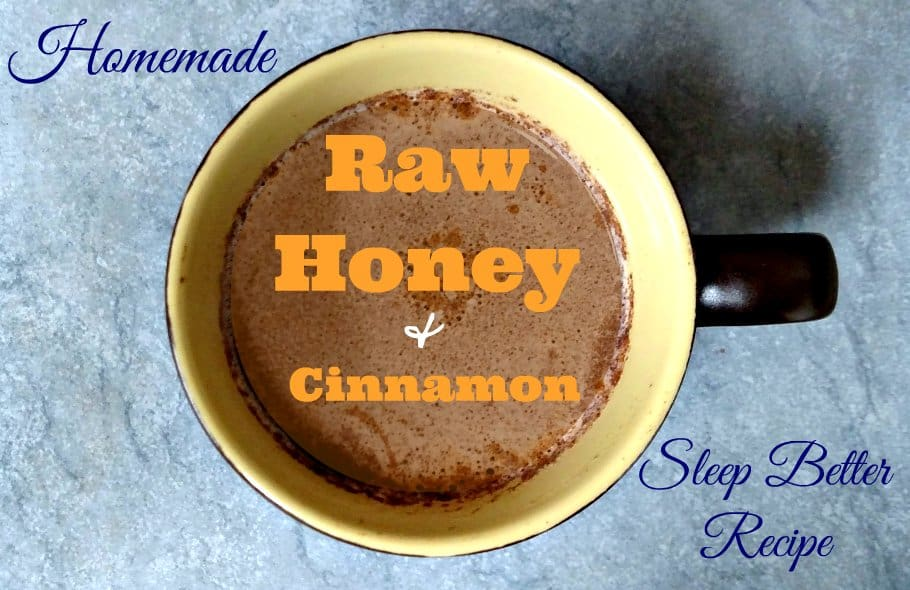 Is cinnamon good to help you sleep? The sleep benefits of raw honey and cinnamon are well known, and very tasty! You'll love this bedtime recipe for insomnia.