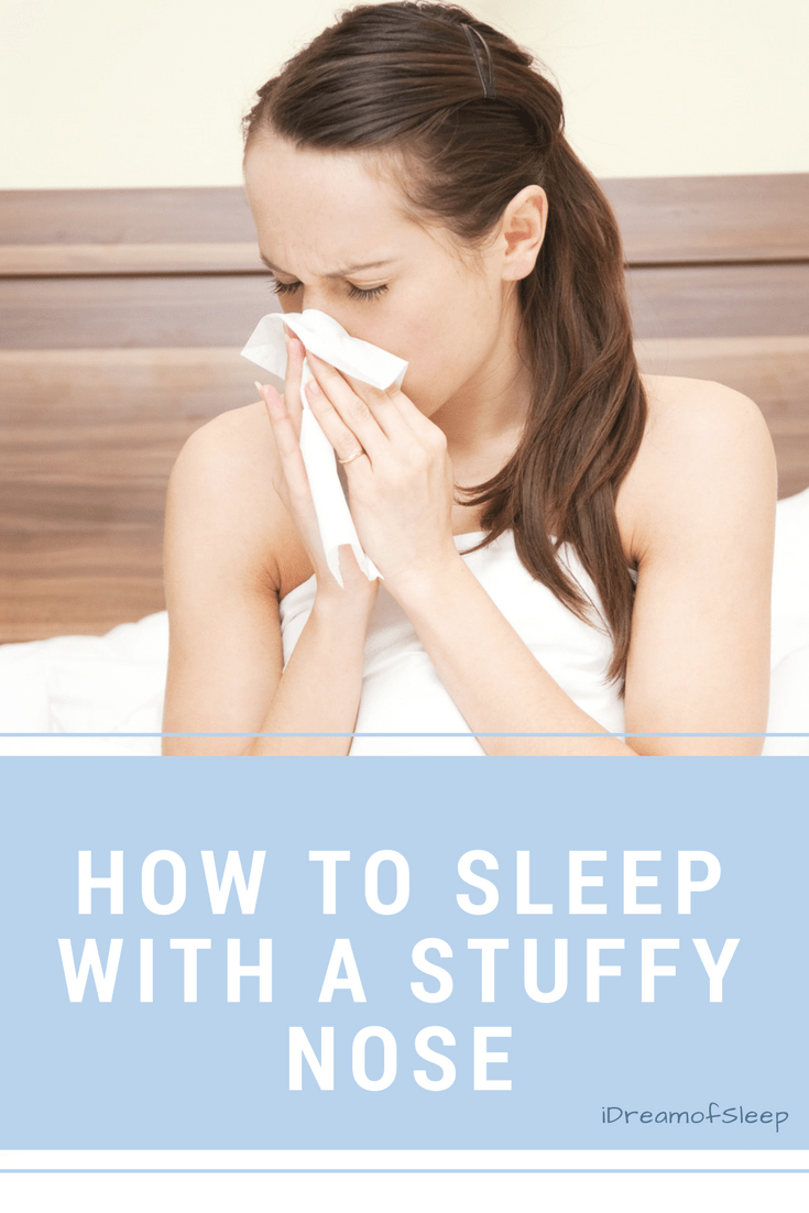 You're sick and you just want to sleep, but how do you sleep with a stuffy nose? Here's some home remedies for a blocked nose at night. It will ease your nasal congestion naturally without medicine. #sleep