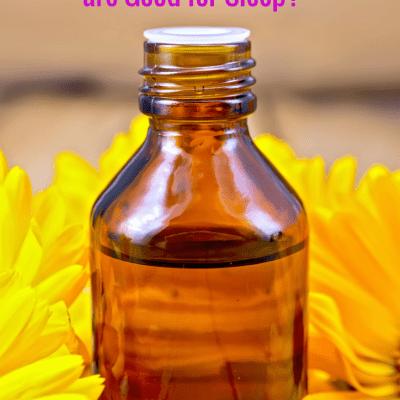 essential oils help sleep