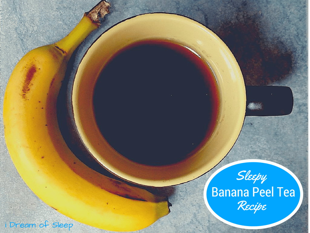 How to Make Banana Peel sleep tea recipe
