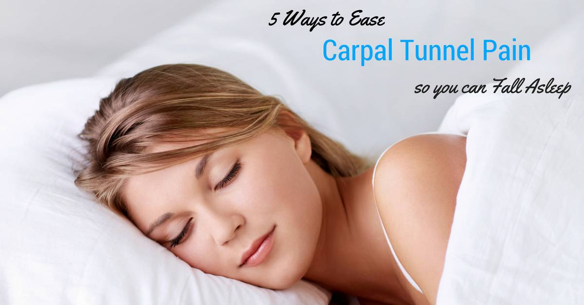 5 Surprisingly Simple Ways to Sleep Better with Carpal ...