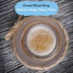 Coconut Oil and Honey for Sleep: Nature's Magic Sleep Potion