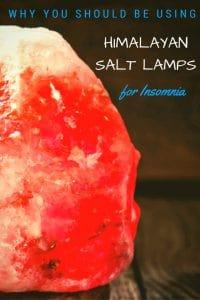 Himalayan Salt Lamp for Insomnia