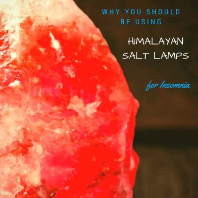Himalayan Salt Lamp for Insomnia