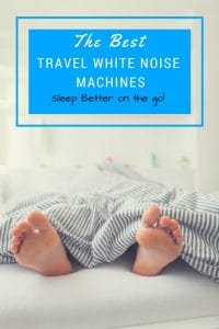Best Travel Size White Noise Machines for trips and vacations.