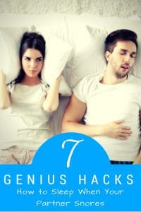 "Are you tired of complaining, my husband's snoring keeps me awake and I can't sleep? Or if you've ever wondered, ""how can I stop someone from snoring without waking them"" this article is for you. I've shared my best tips for sleeping through snoring."