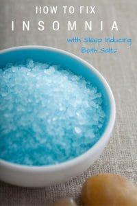 Sleep Inducing Bath Salts