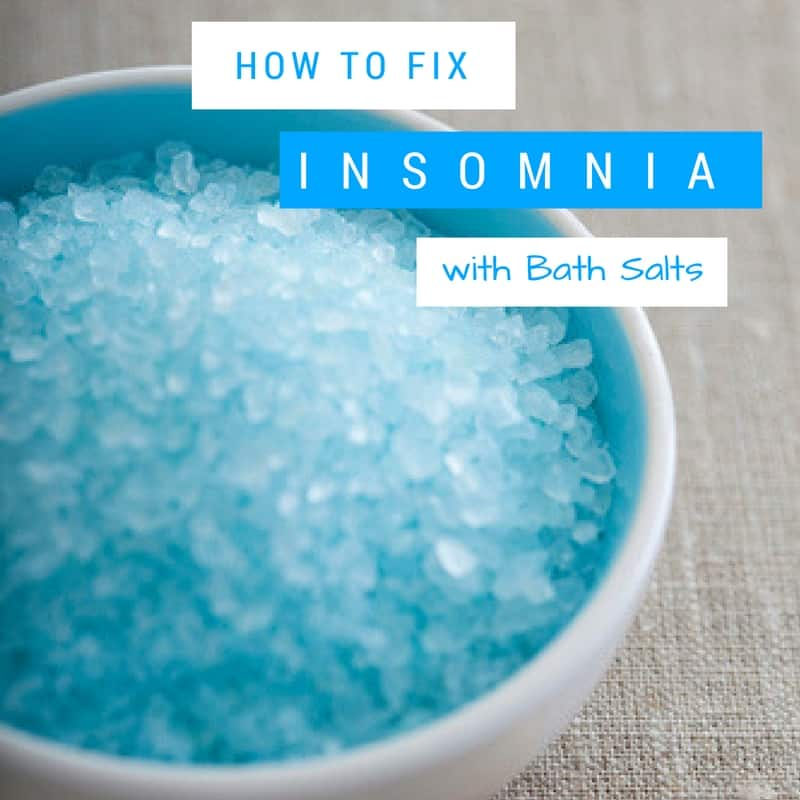 Conquer your Insomnia with Sleep Inducing Bath Salts