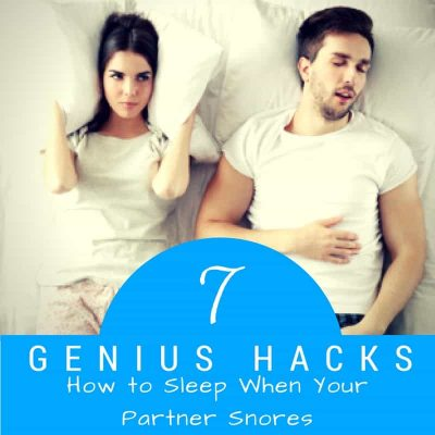 tips for sleeping with a snorer