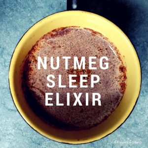 Milk Honey and Nutmeg Sleep drink is a relaxing beverage to drink at bedtime to help insomnia.
