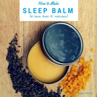 sleep balm recipe
