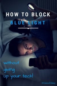 How to Block Blue Light for Sleep