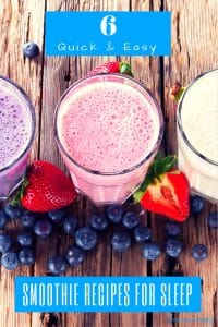 Quick and Easy Insomnia Smoothie Recipes that Help You Sleep