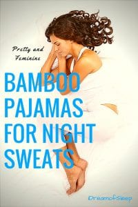 bamboo pajamas for night sweats