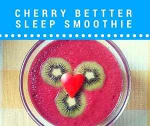 cherry smoothie sleep