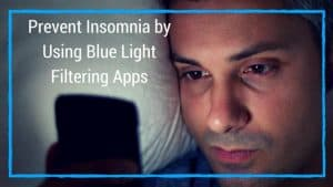 how to block blue light and sleep better