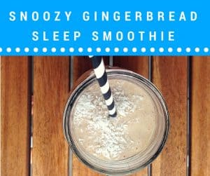 smoothie recipes help you sleep