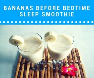 sleep inducing smoothies help insomnia