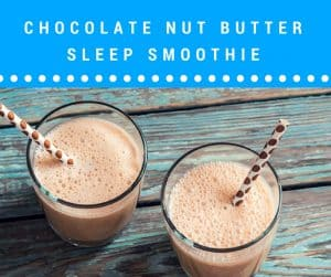 what smoothies can you drink to help sleep