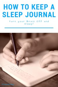 How to Keep a Sleep Journal