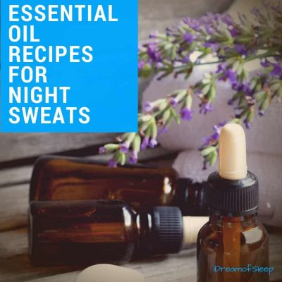 essential oils for night sweats