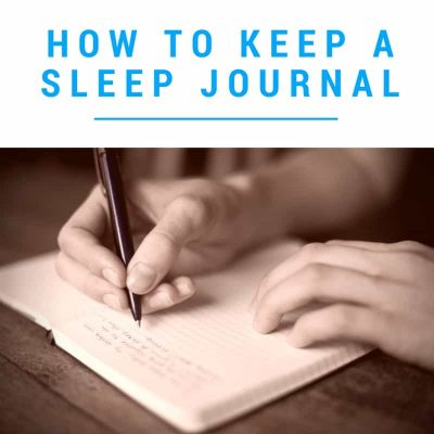 how to sleep journal