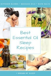 essential oil sleep recipes