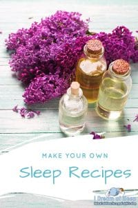 DIY SLEEP ESSENTIAL OILS RECIPES