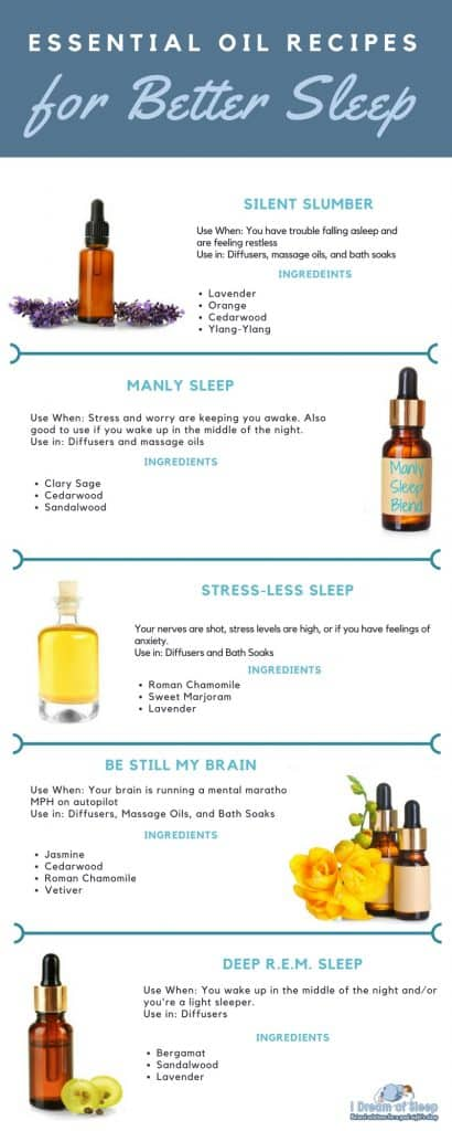 The Best Essential Oil Sleep Recipes And How To Use Them