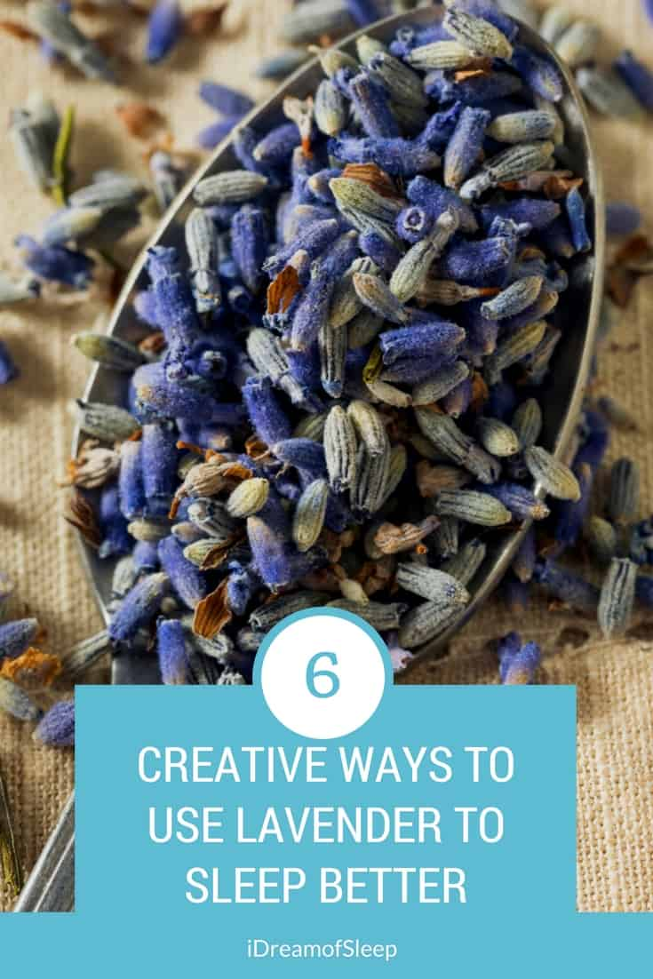 Natural sleep remedies are the best way to help insomnia symptoms, and lavender is known to help you out in that department. But how do you use lavender to sleep better? Here's 6 DIY things you can do with lavender that may promote a better night's sleep.