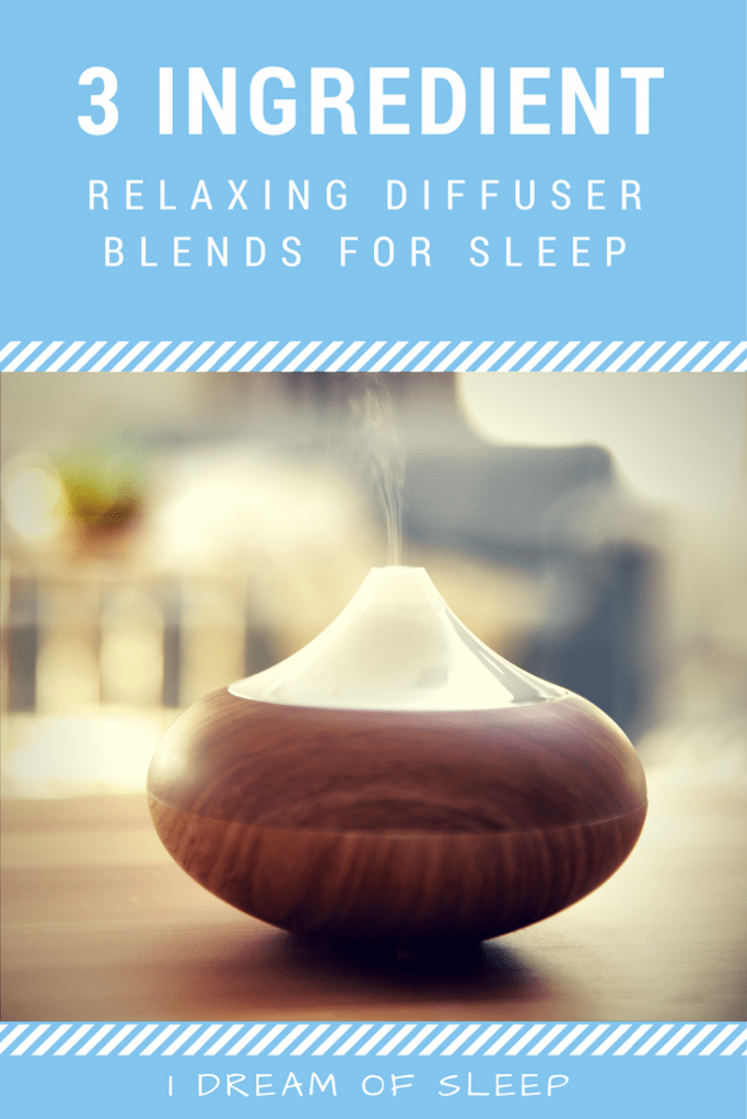 Make Relaxing Diffuser Blends for Sleep with Just 3 Oils. Essential oil recipes don't have to be complicated and expensive. These relaxing and insomnia busting EO sleep blends have just three ingredients. Learn how to make these recipes and use these awesome DIY aromatherapy blends tonight! Get the deep and restful sweet dreams you've been looking for.