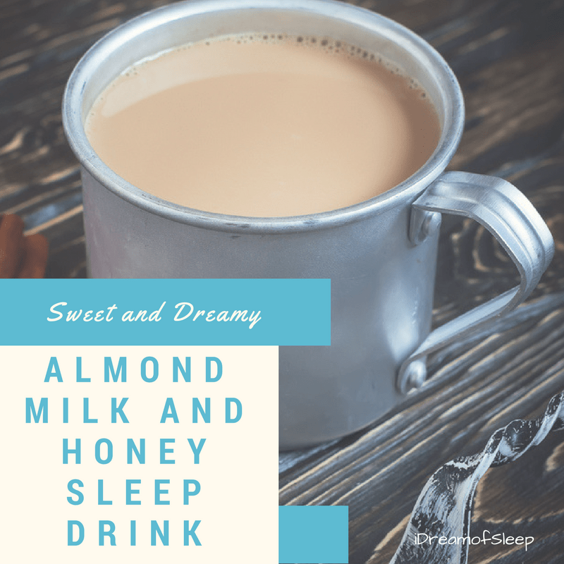 Looking for sleep remedies? Try a yummy almond milk bedtime insomnia drink.