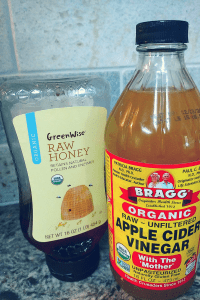 Vinegar and honey natural sleep recipe