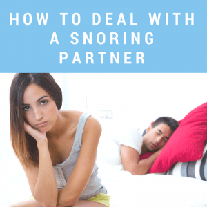 Help! My Husband Snores and Won't Do Anything About it