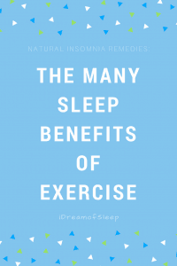 Exercising for fitness and sleep is one of the best insomnia tips ever