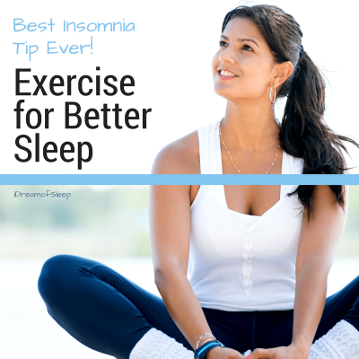 Fall asleep faster and sleep deeply by exercising at least 10 to 30 minutes daily