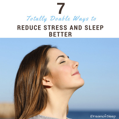 How to deal with everyday stress and anxiety for insomnia relief