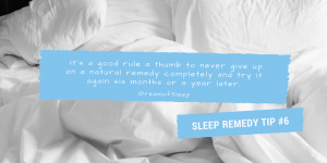 Improve your sleep health and life by using natural sleep remedies the right way at night