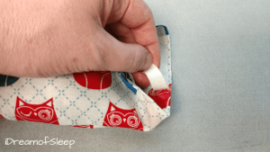 No sew aromatherapy lavender eye pillow pattern DIY