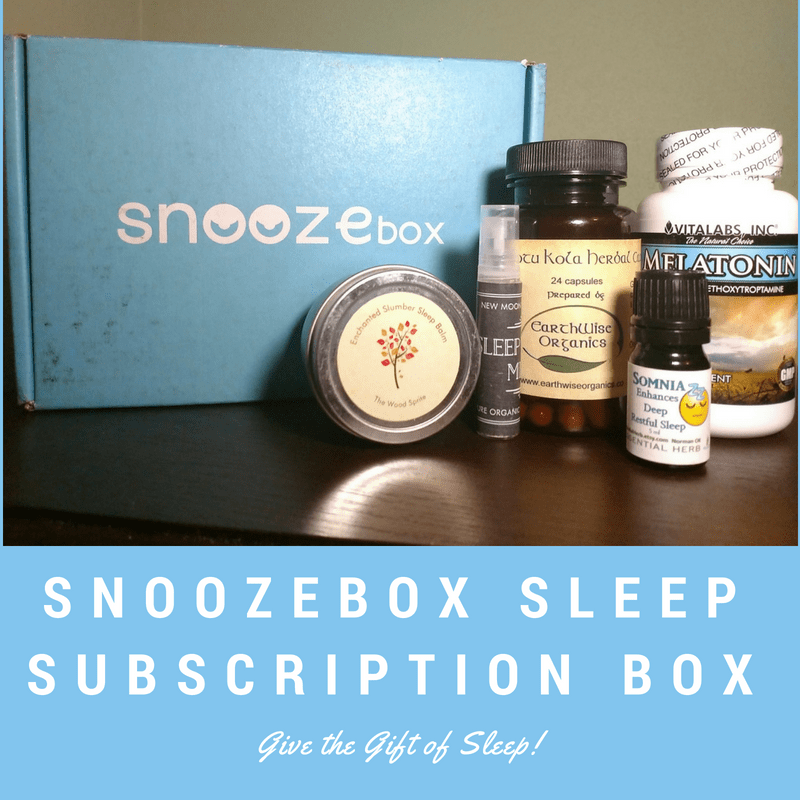 Snoozebox Sleep Subscription Box: Send the Gift of Sleep!