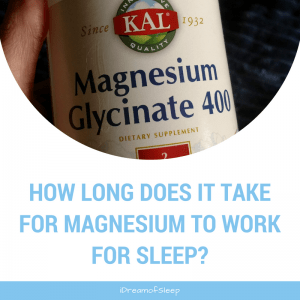 How Long Does it Take for Magnesium to Work for Sleep?