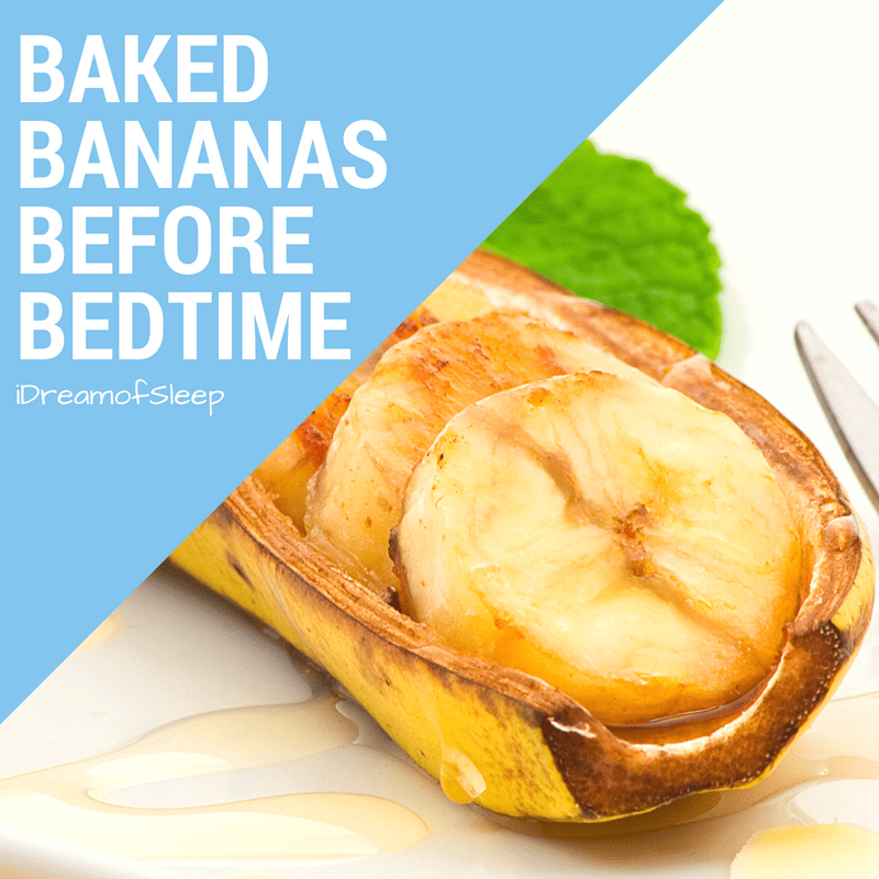 Baked Bananas and Honey Natural Sleep Remedy Recipe